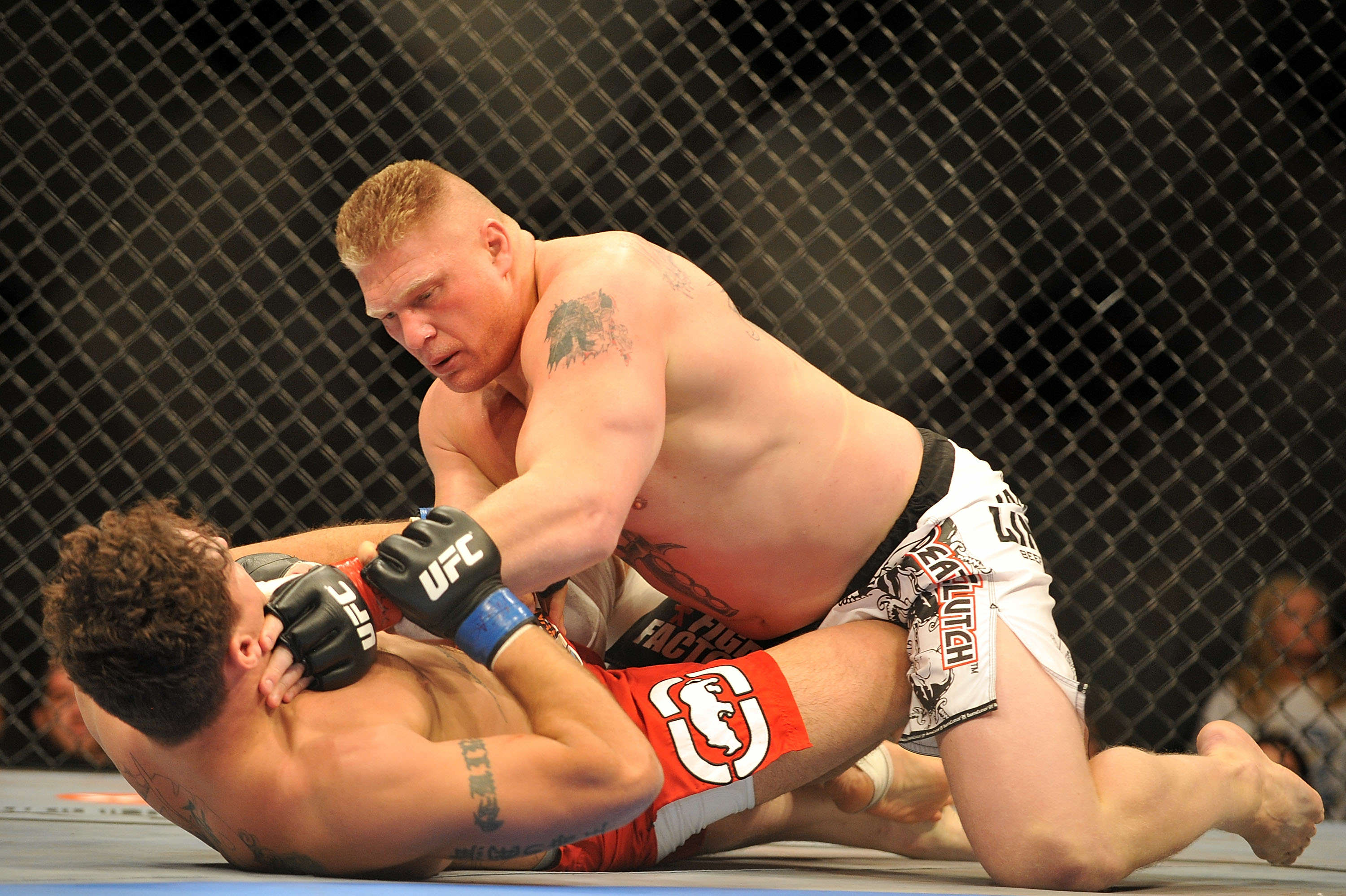 Lesnar Getty WWE Wants Top UFC Star In Return For Brock Lesnar