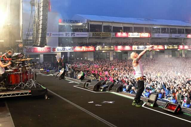 Prodigy rock am ring 2009 640x426 Crowds Injured When Lightning Strikes Rock Festival   For The Second Year Running