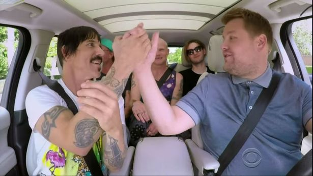 Heres How Carpool Karaoke Saved A Babys Life Red Hot Chilli Peppers carpool karaoke