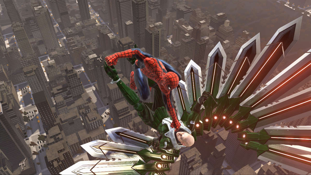 Spider man Web of Shadows 1 What Makes A Truly Great Superhero Game?