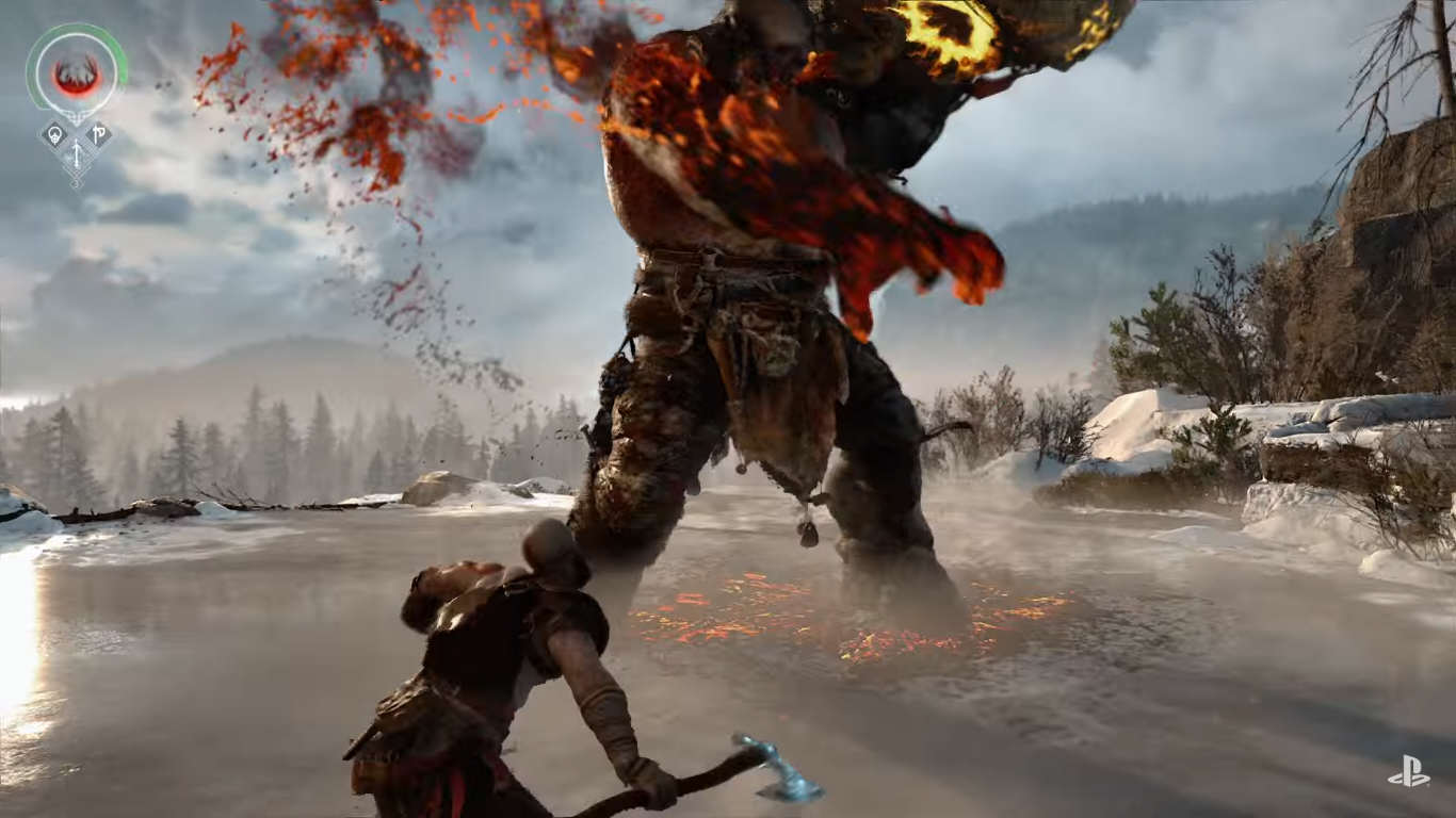 Untitled 1 7 Loads Of New God Of War 4 Info, Setting And Gameplay Explained