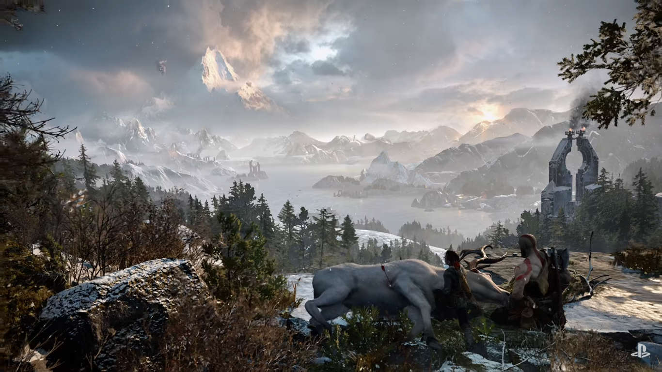 Untitled 1 8 1 How The God Of War 4 Team Settled On Norse Mythology