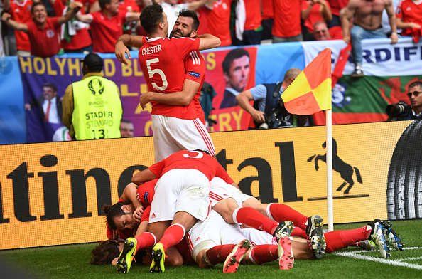 Wales Getty 2 Twitter Explodes As Wales Win First Ever European Championship Game