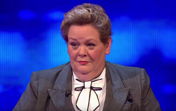 The Chases Anne Hegerty Has Perfect Response To Body Shaming Trolls anne new