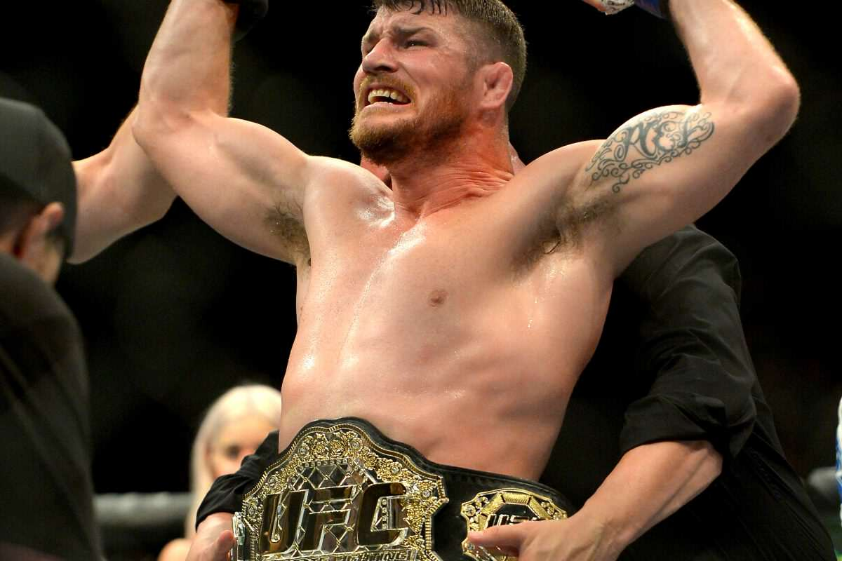 bisping belt Getty 1200x800 This Brutal Knockout Just Made Michael Bisping Britains First UFC Champion