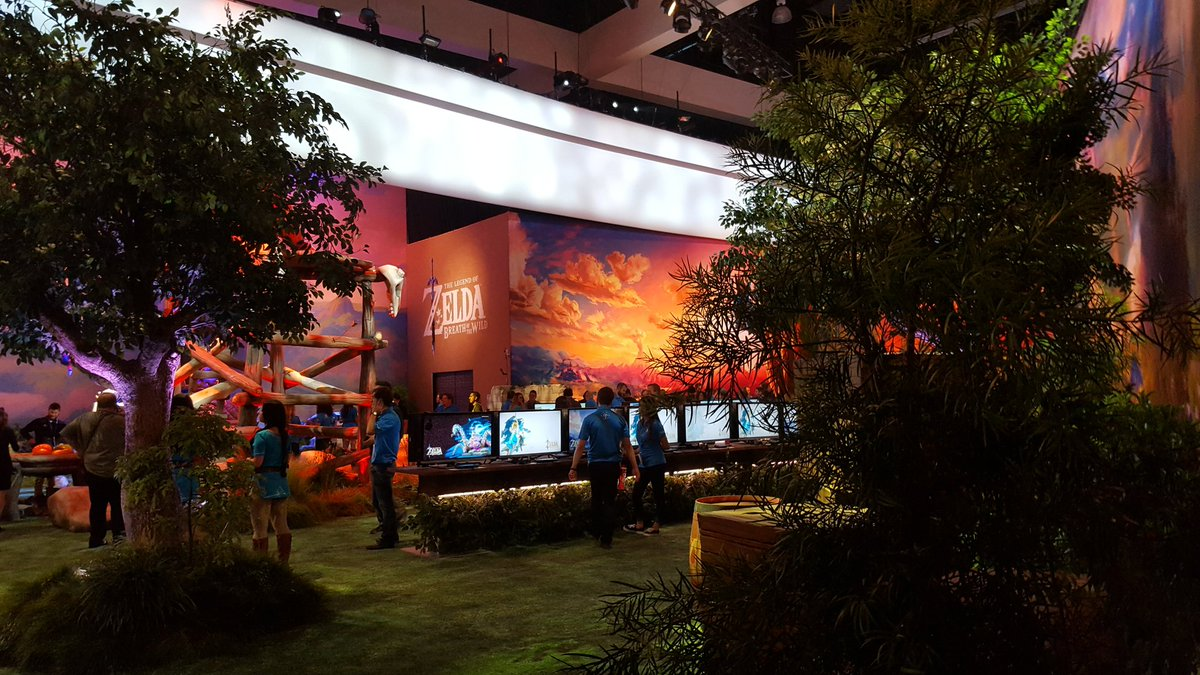Zelda: Breath Of The Wild E3 Demo Was Nearly Stolen By Hacker e3 booth4