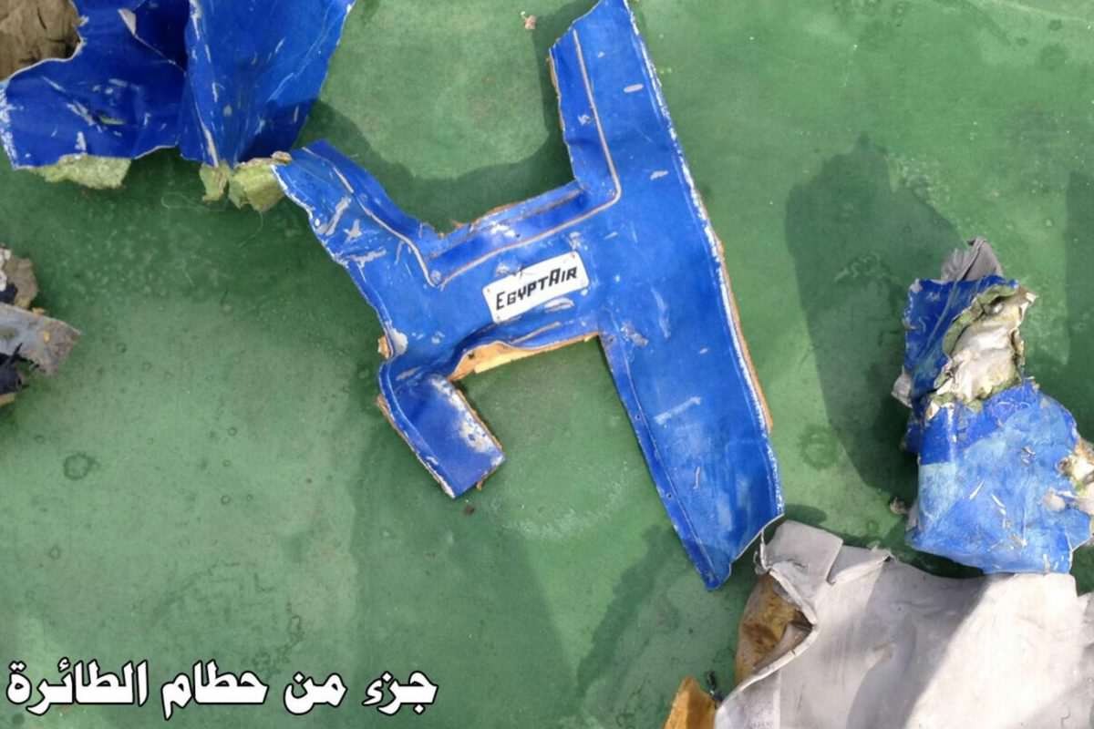 egyptair wreckage 2 1 1200x800 Missing EgyptAir MS804 Black Box Reveals Likely Cause Of Crash