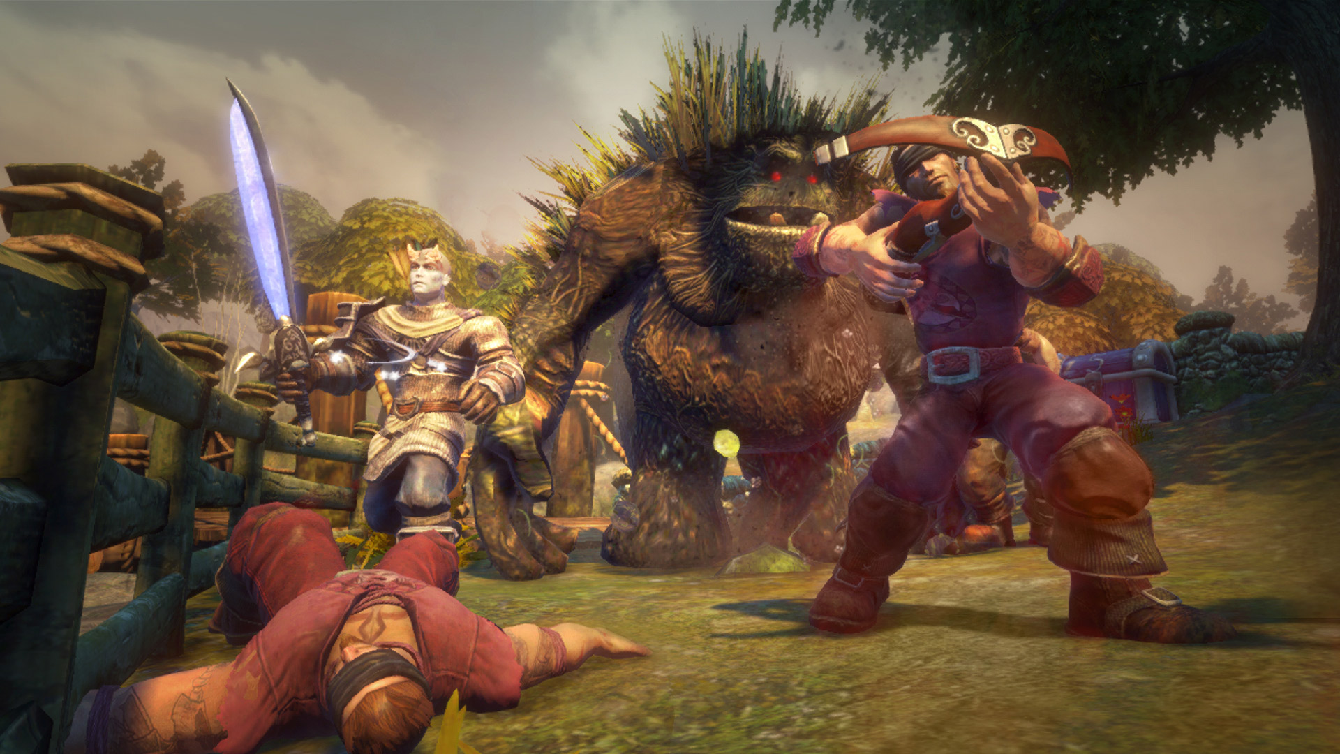 fable anniversary big screen 1 Ex Lionhead Devs Planning New Fable Game With A Twist