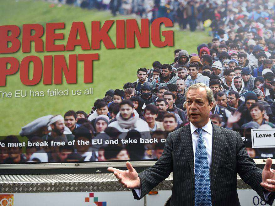 farage 1 Three Charts Show How Older Voters Screwed Over Young People With Brexit