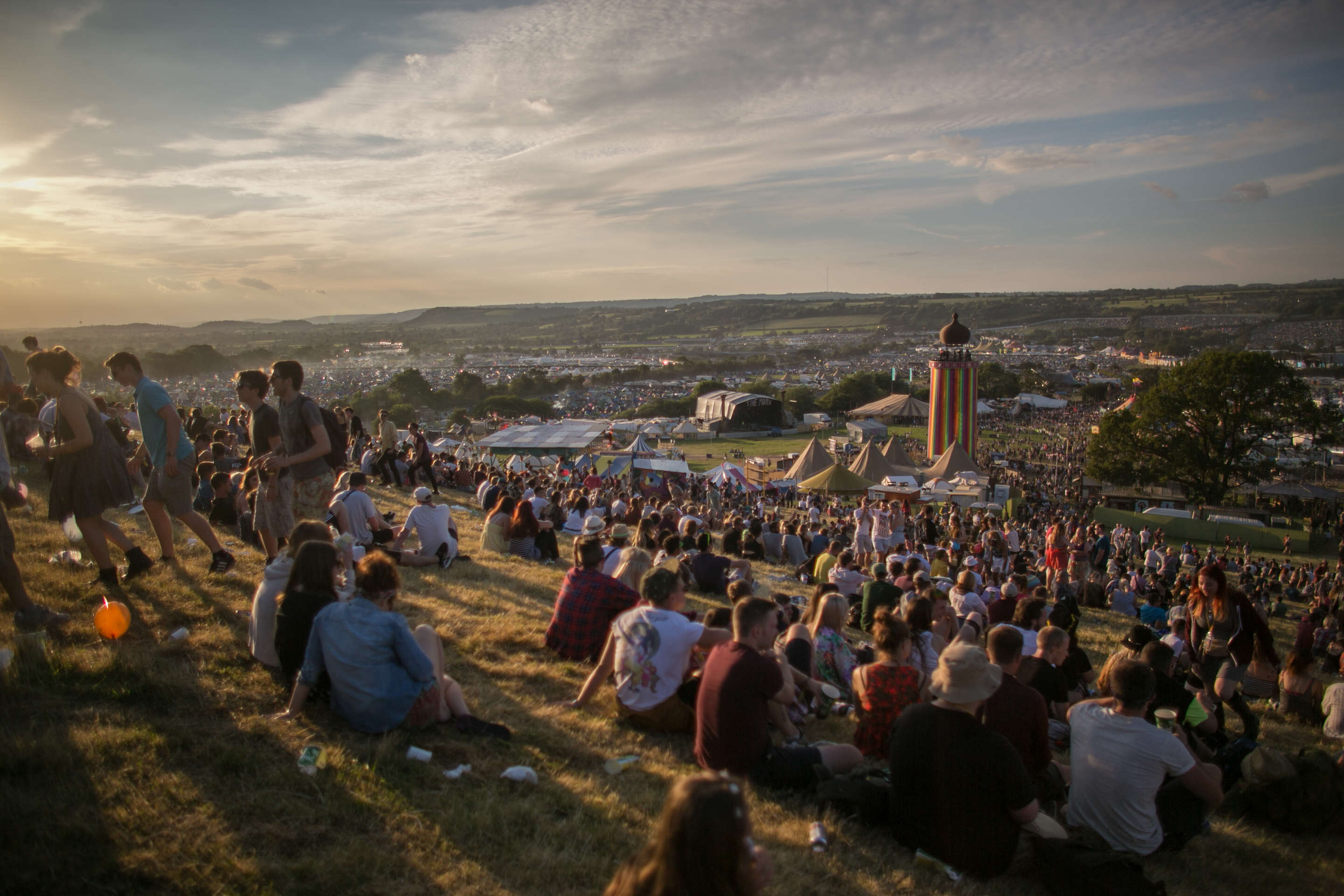 Man Dies After Catching Fire At Glastonbury glastonbury1
