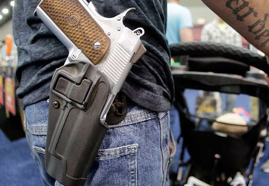 gun1 Supreme Court Upholds Stricter Gun Control Laws For Domestic Abusers