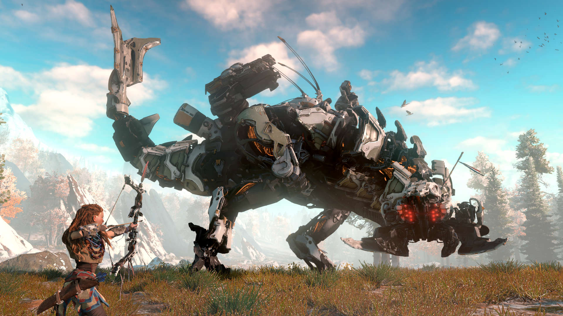 horizon zero dawn screen 01 us 15jun15 Horizon Zero Dawn Gets Eight Minutes Of Breathtaking Footage