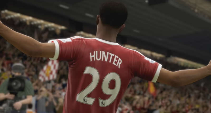 hunterfacebook EA Announce FIFA 17 Story Mode The Journey