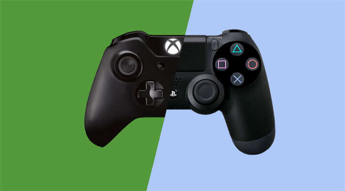 Xbox Co Creator On The Idea Of Microsoft/Sony Cross Platform Play microsoft xbox one ps4 cross platform play controller 700x389