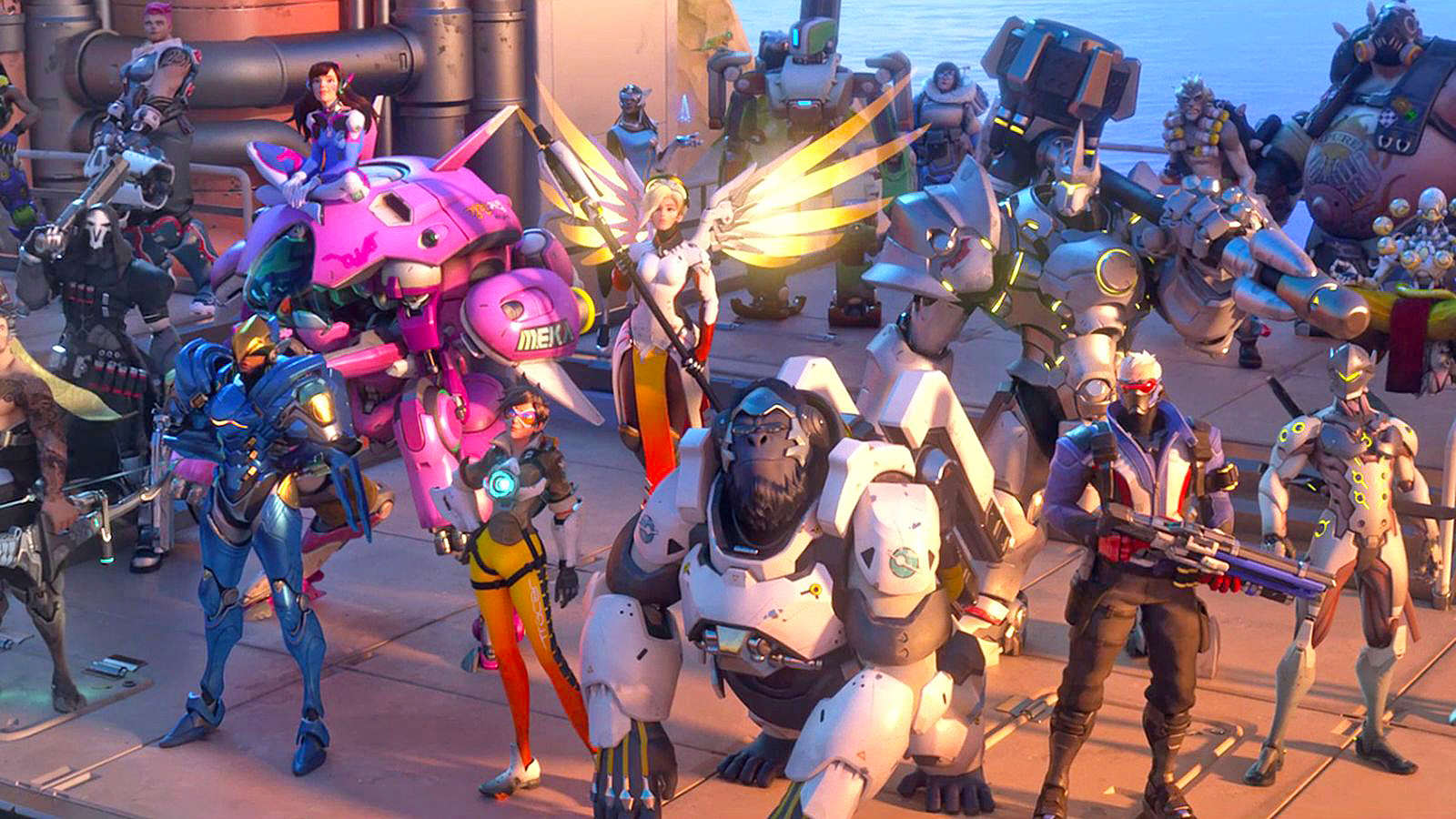 overwatch ed Overwatchs Competitive Gold Weapon Rewards Are Awesome