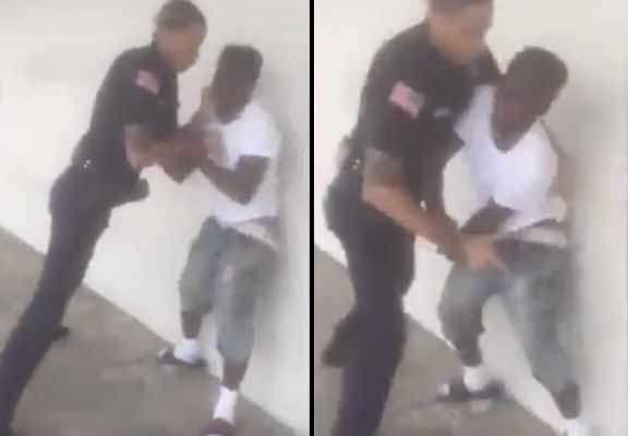 police 1 Shocking Moment Police Officer Bodyslams Young Suspect
