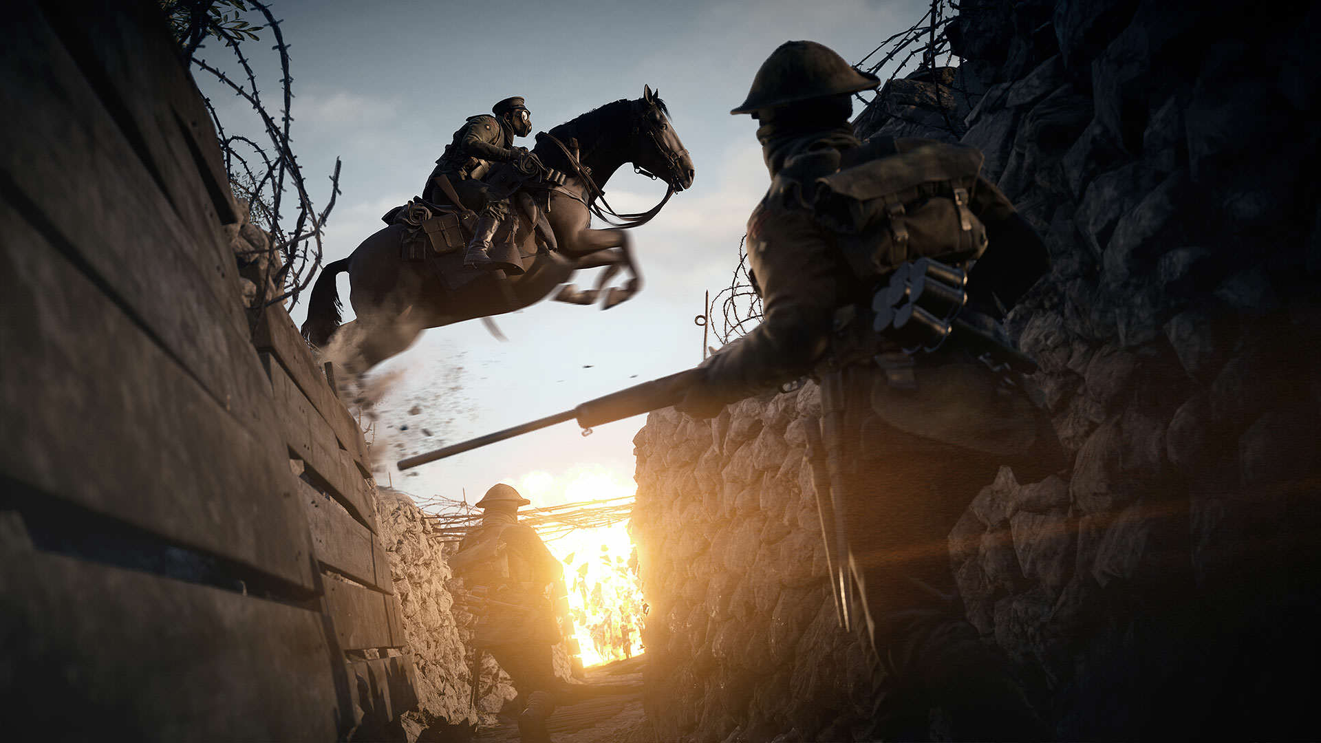 Battlefield 1 Multiplayer Footage Shown At EA Conference rendition1.img  1