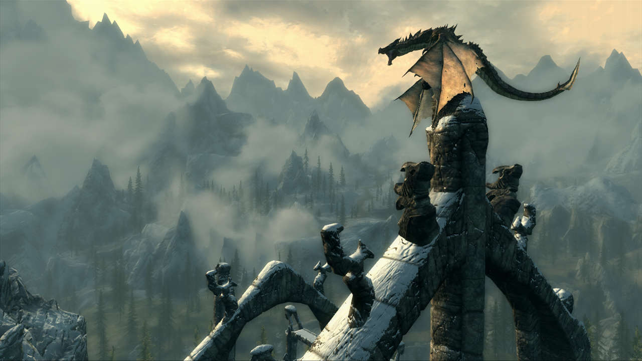 screenshot 8 2 Bethesda Speak Out On Skyrim Remaster