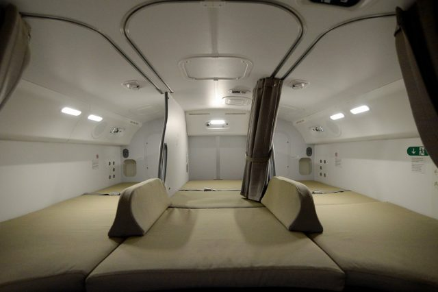 toezJak 640x426 Revealed: The Secret Room On Airplanes Just For Flight Attendants