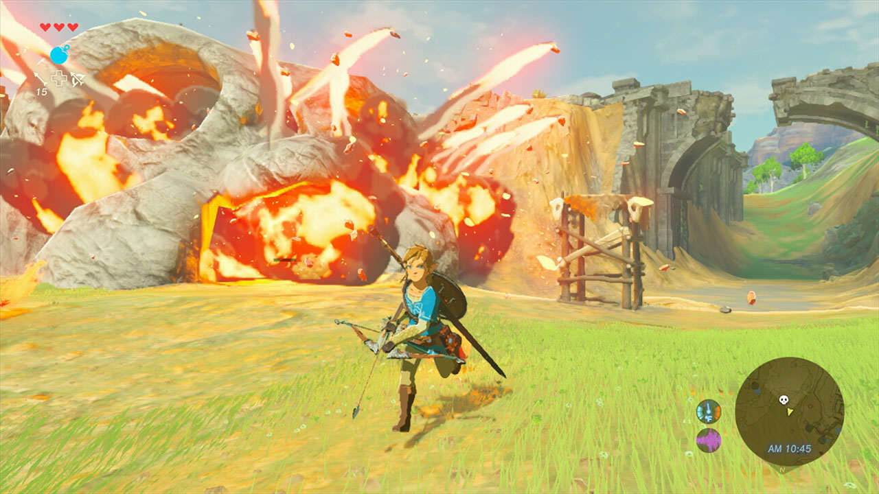 zelda0004 The Legend Of Zelda: Breath Of The Wild Gets Tons Of Gameplay Footage