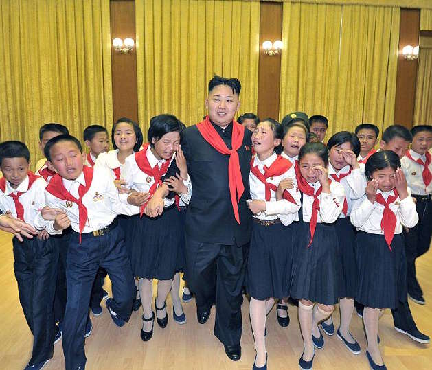 1412063549973 wps 3 A photo released by North These Are The Ridiculous Facts North Korean Kids Learn About Kim Jong il