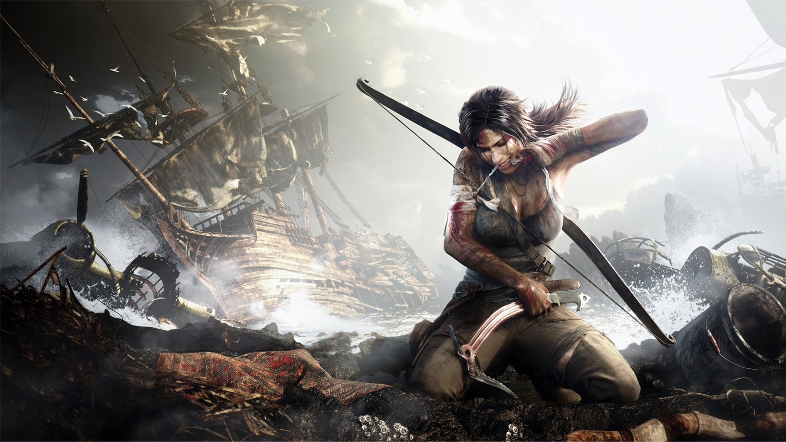 Alicia Vikander Reveals New Info On Upcoming Tomb Raider Film 2013 tomb raider game wallpaper for 1600x900 hdtv 9 502 1