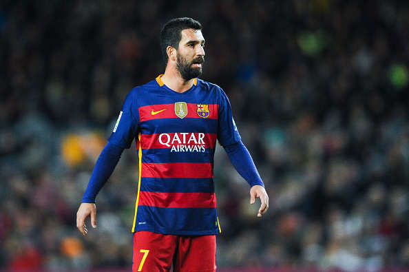 Arda Turan Barca Getty Premier League Trio Set To Battle For Barcelona Star