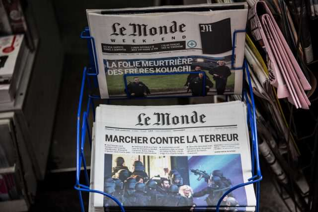 GettyImages 461270504 640x426 French Media To Stop Publishing Terrorists Names And Photos
