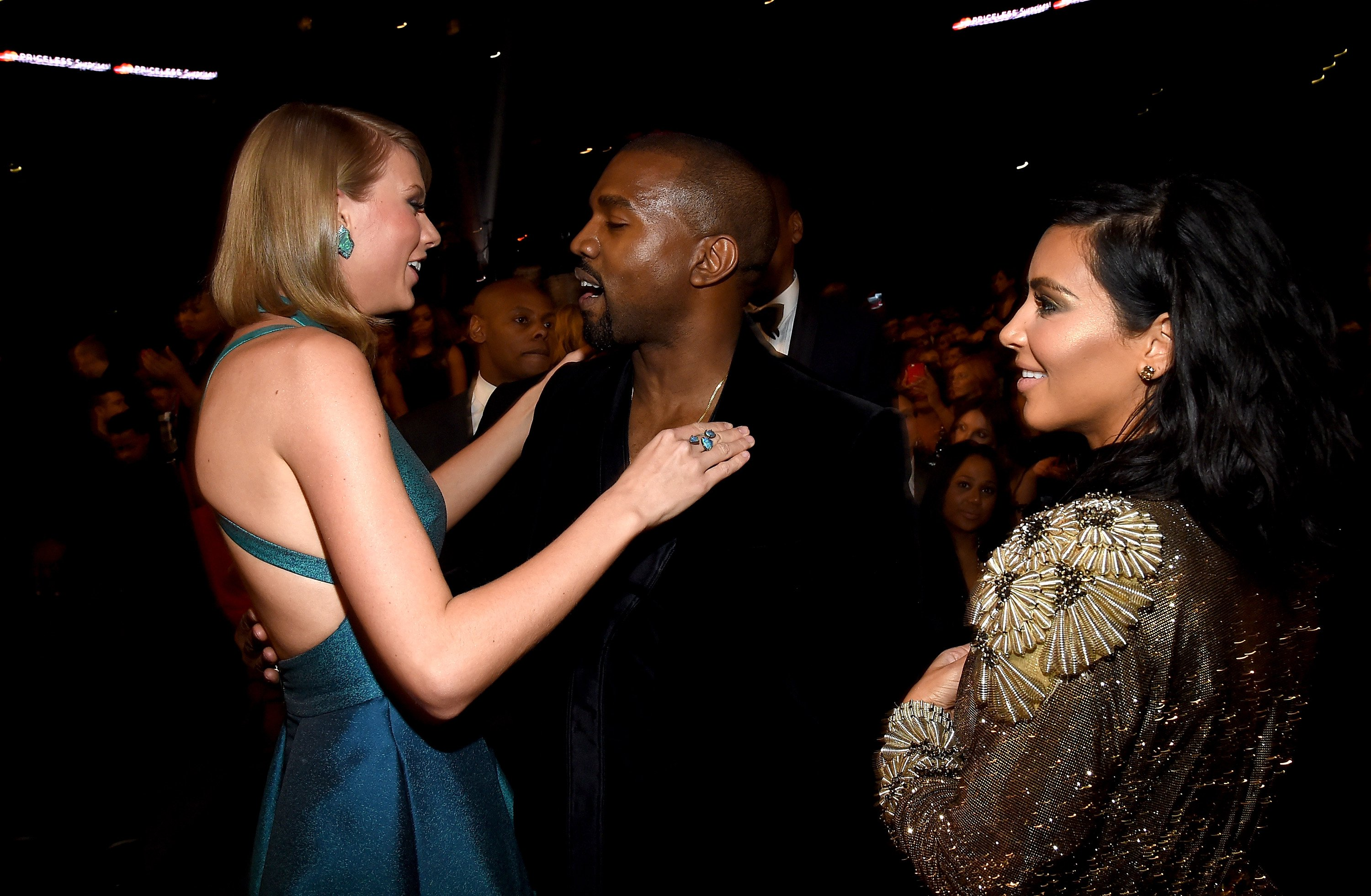 GettyImages 463036782 4 Everyone Thinks Kanye Wore This Hugely Inappropriate Taylor Swift T Shirt