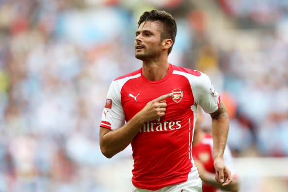 Huge Blow For Arsenal As Injuries Kill Tour Before It Even Starts Giroud Getty 2