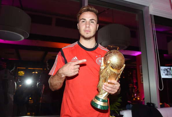 Gotze with World Cup Getty Liverpool End Gotze Chase But Premier League Move Still Likely