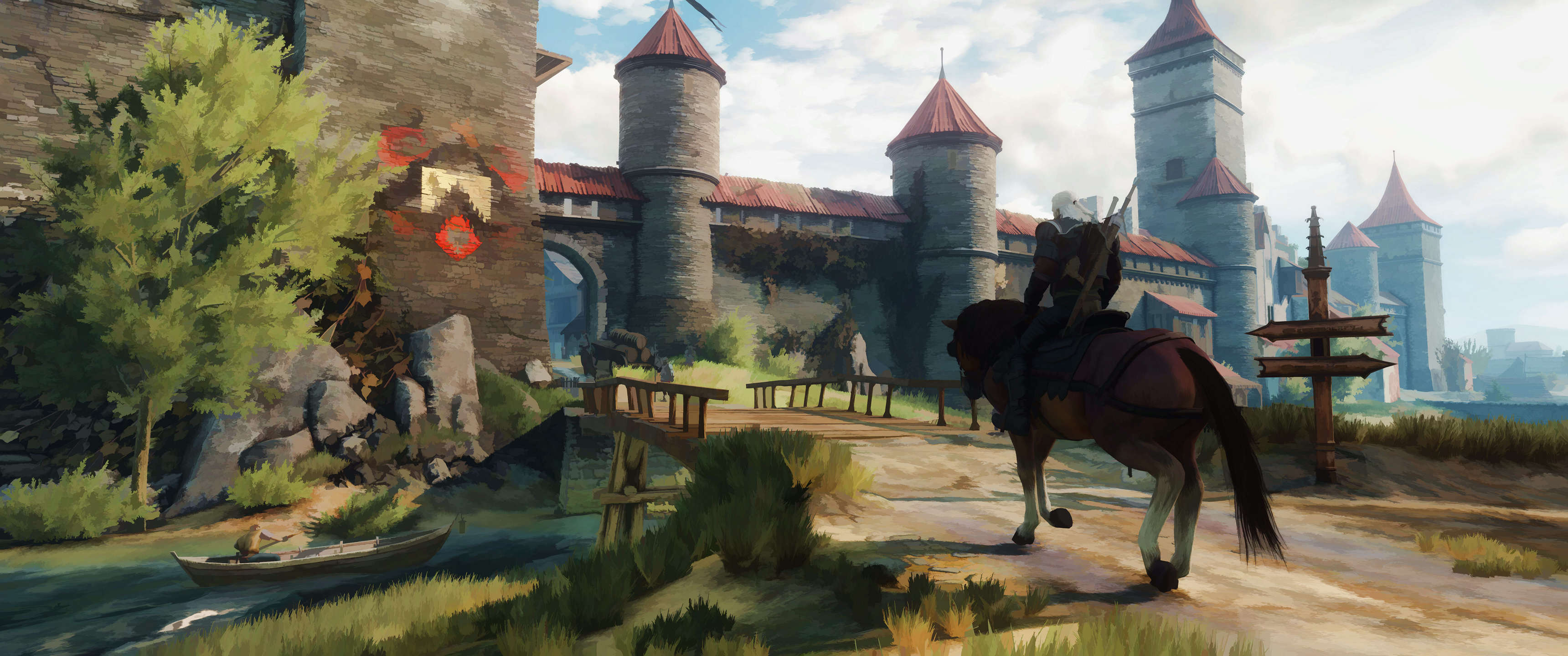 MPP68VR This Guy Turned His Witcher 3 Screenshots Into Works Of Art