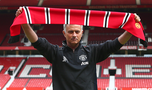 Mourinho Getty Scarf Mourinho Risks Wrath Of Chelsea Fans With Move For Key Man