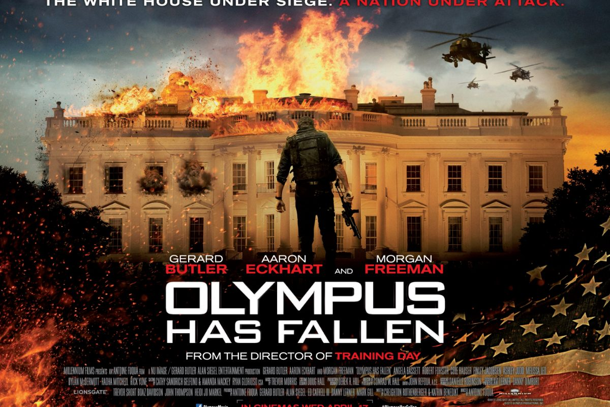 Olympus Has Fallen Quad Poster UK 1200x800 These Movies Are Basically Just U.S. Military Propaganda