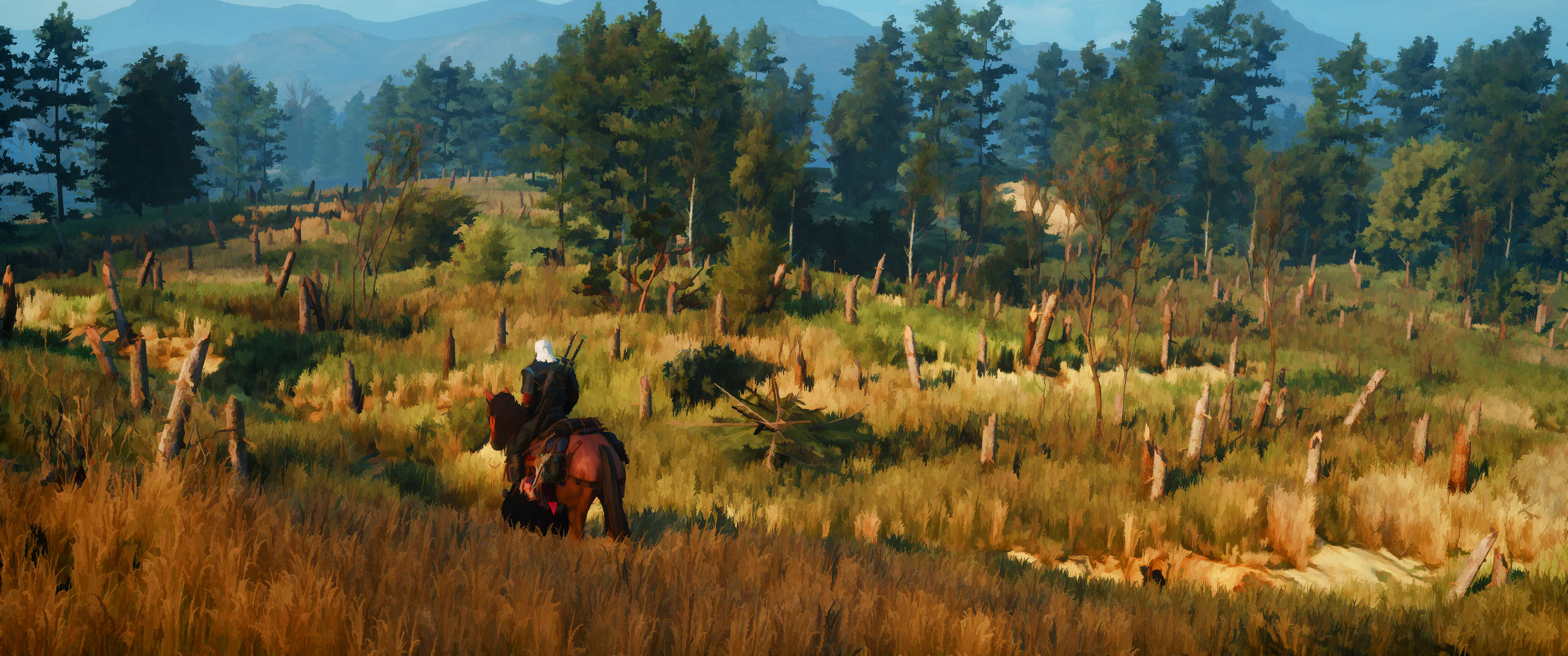 This Guy Turned His Witcher 3 Screenshots Into Works Of Art QtXKnmY 1