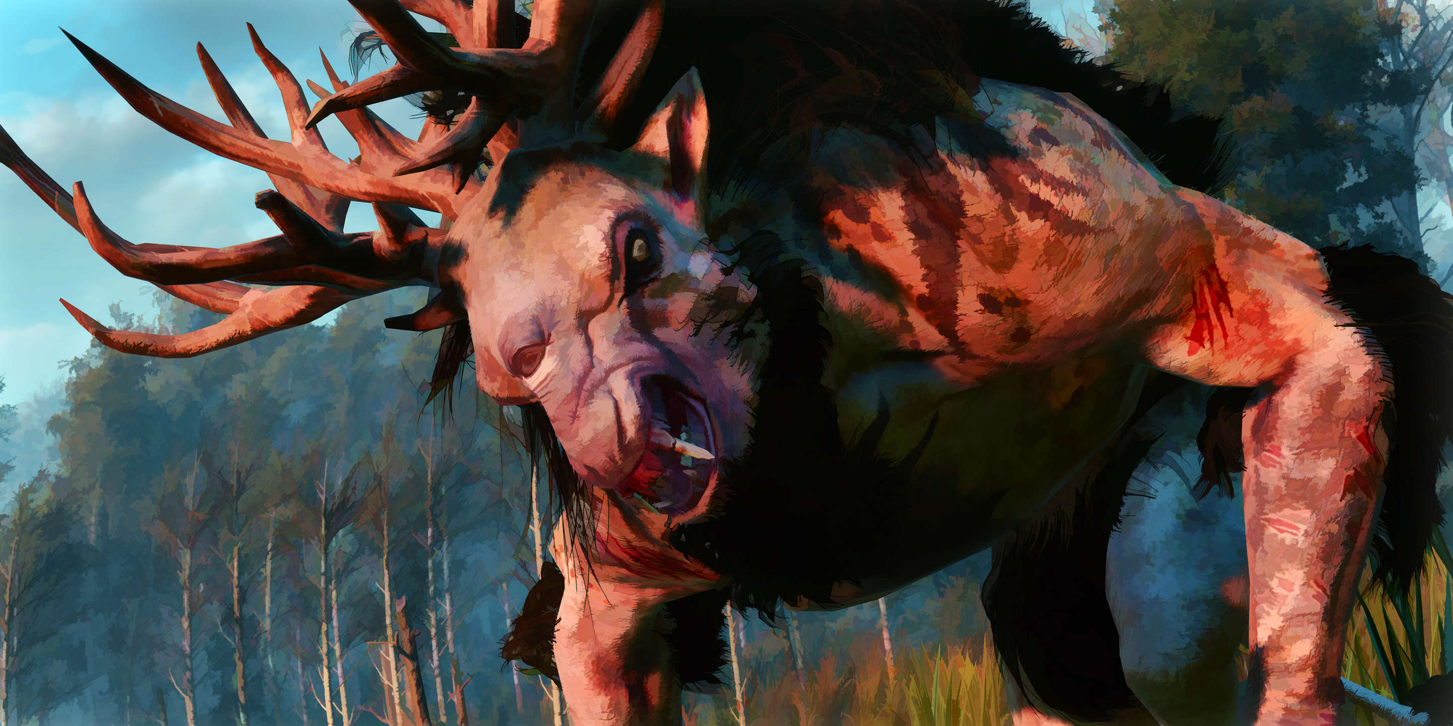 Rvi7zcM This Guy Turned His Witcher 3 Screenshots Into Works Of Art