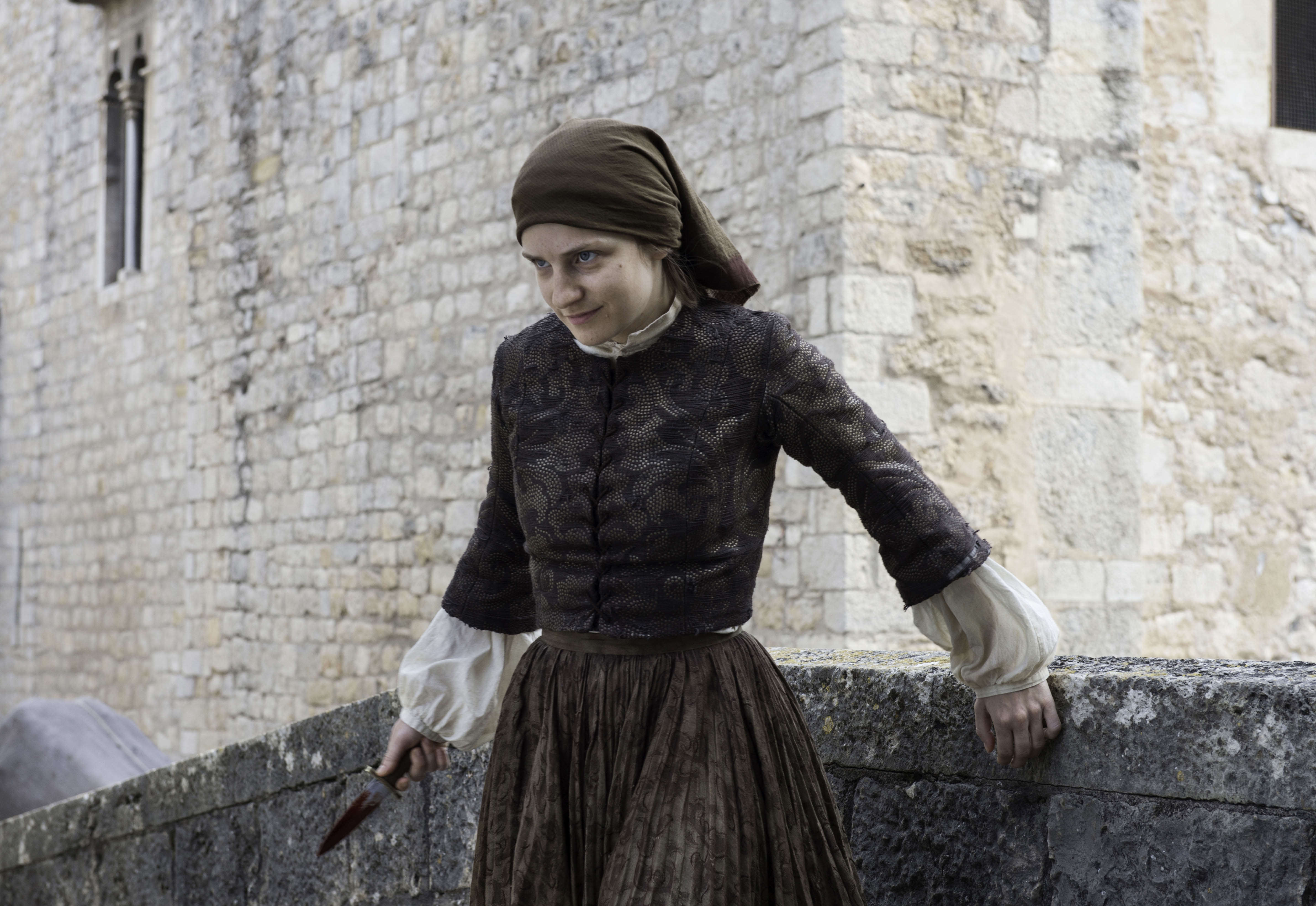Game Of Thrones The Waif Looks VERY Different In Real Life The Broken Man 25