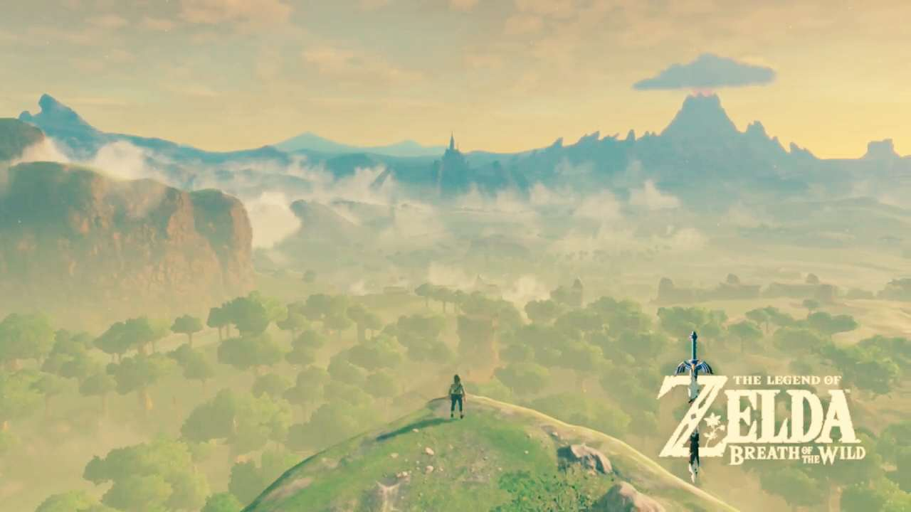 E3 2016s Game Critics Award Winners Zelda BreathOfWild Pano