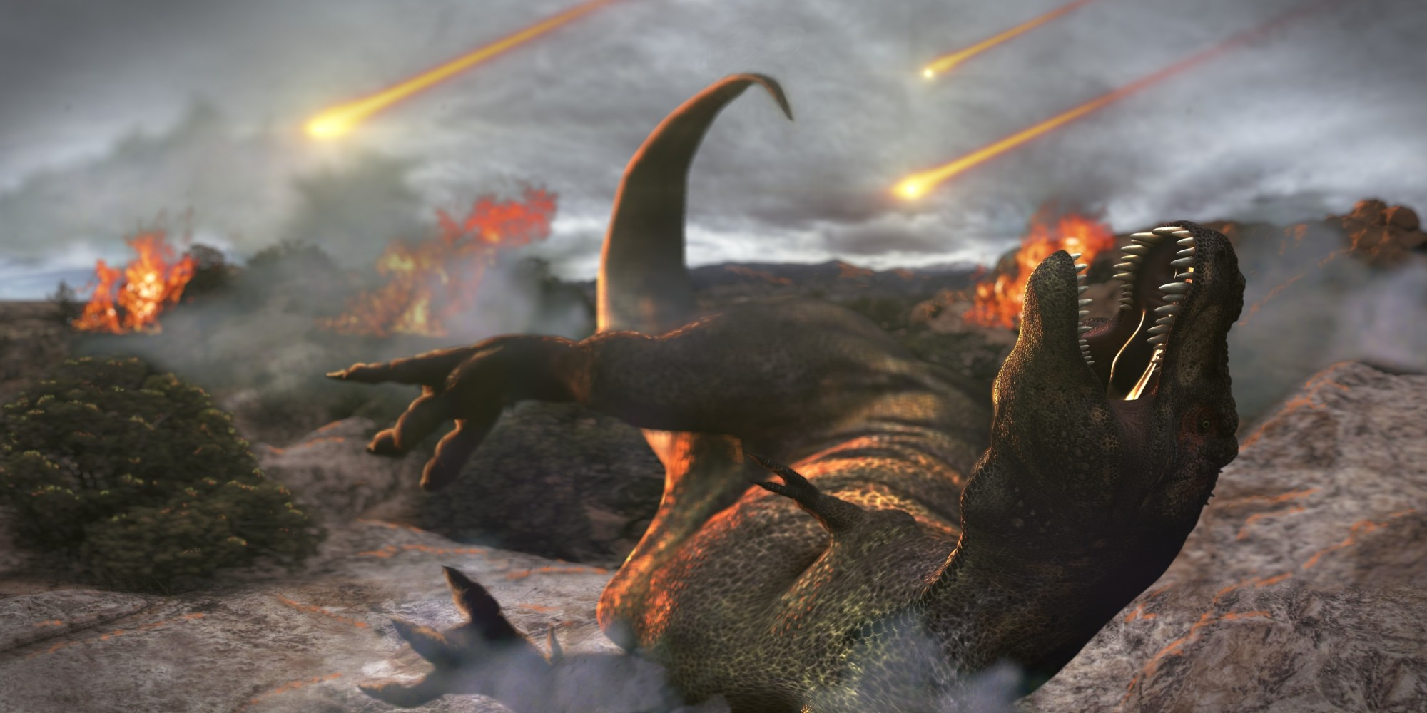 asteroid2 Scientists Now Know What Really Wiped Out Dinosaurs