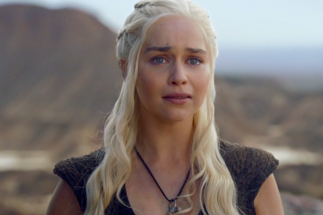 daenerys targaryen crying game of thrones 640x426 Game Of Thrones May Be Around Longer Than Everyone Thought