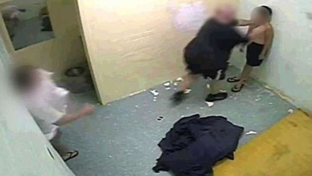 detention Shocking Footage Shows Brutal Treatment Of Young Boys In Prison