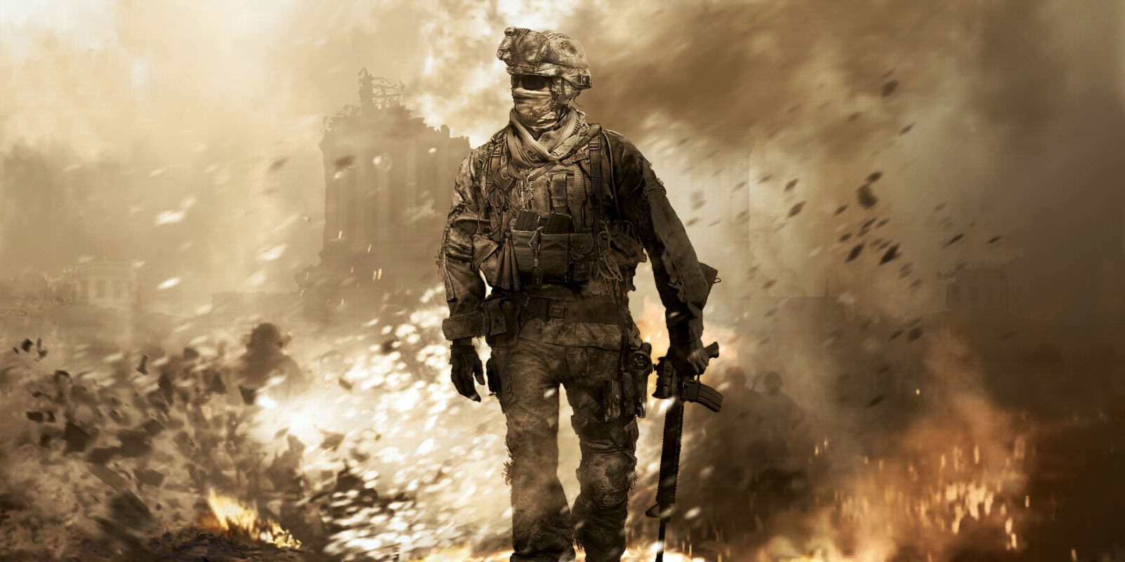 landscape 1456759219 14993 call of duty 4 modern warfare game desktop wallpaper 2560x1600 Call Of Duty Nearly Adopted A Very Different Setting