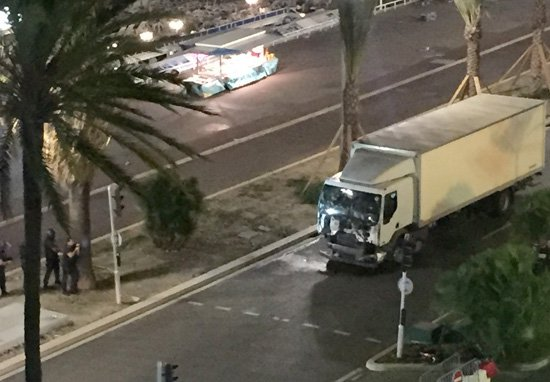 Everything We Know So Far About The Attack In France lorry1 1
