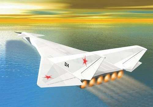 The Soviet Union Built A Nuclear Powered Plane, Apparently nukeplane