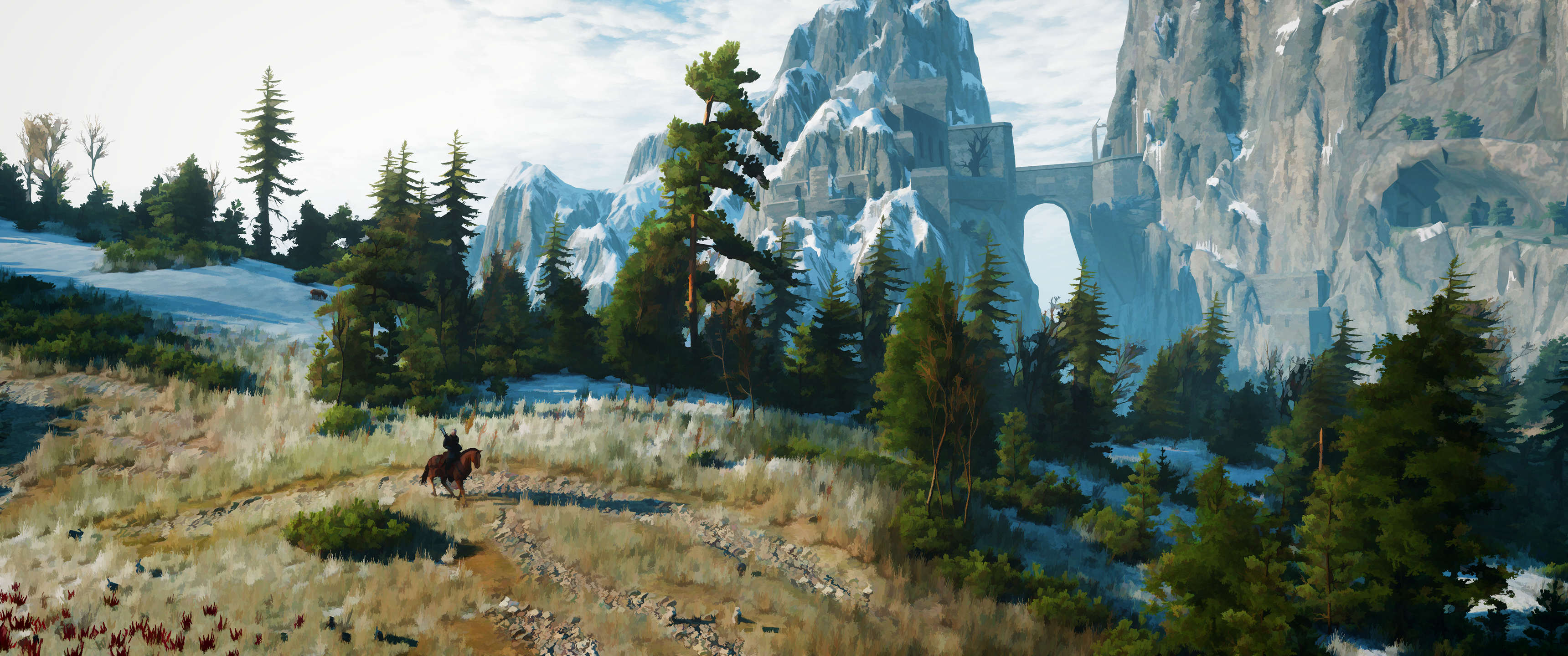 tS0W9EX This Guy Turned His Witcher 3 Screenshots Into Works Of Art