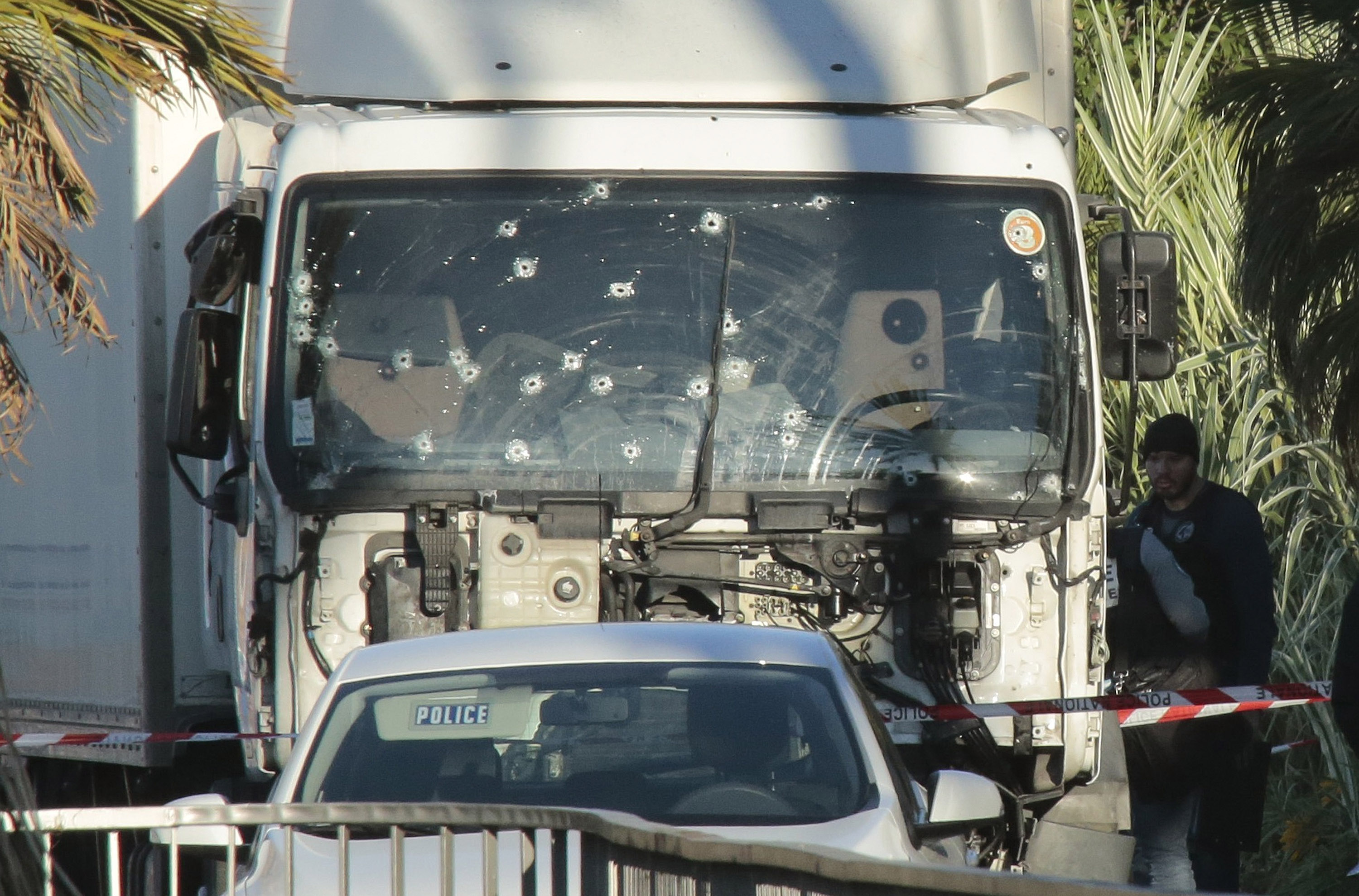 trucknice55 Hero Saves Dozens In Nice After Wrestling With Terrorist Lorry Driver