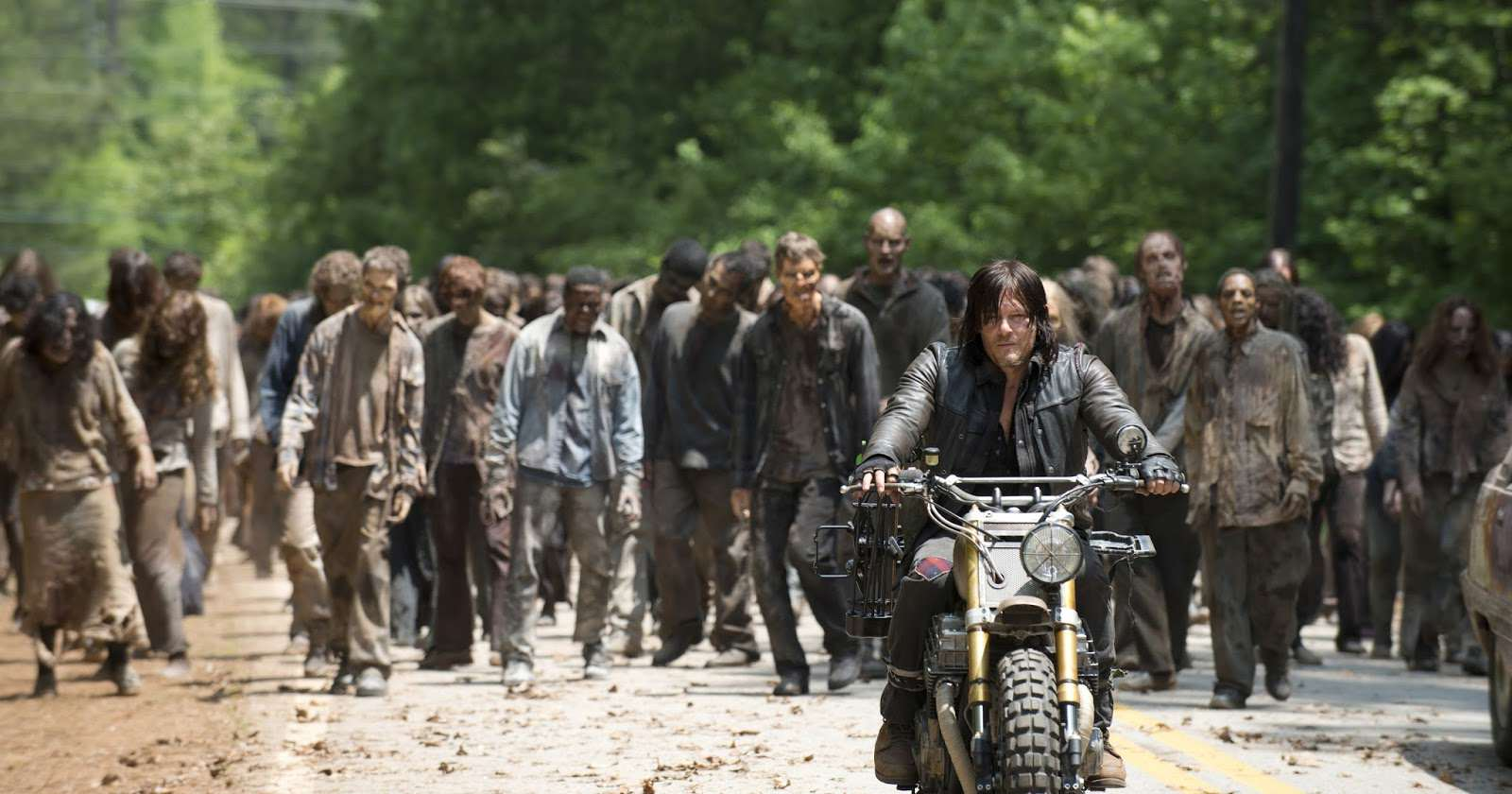 walking dead norman reedus daryl motorcycle photo Pentagon Nurses Are Training For A Zombie Apocalypse