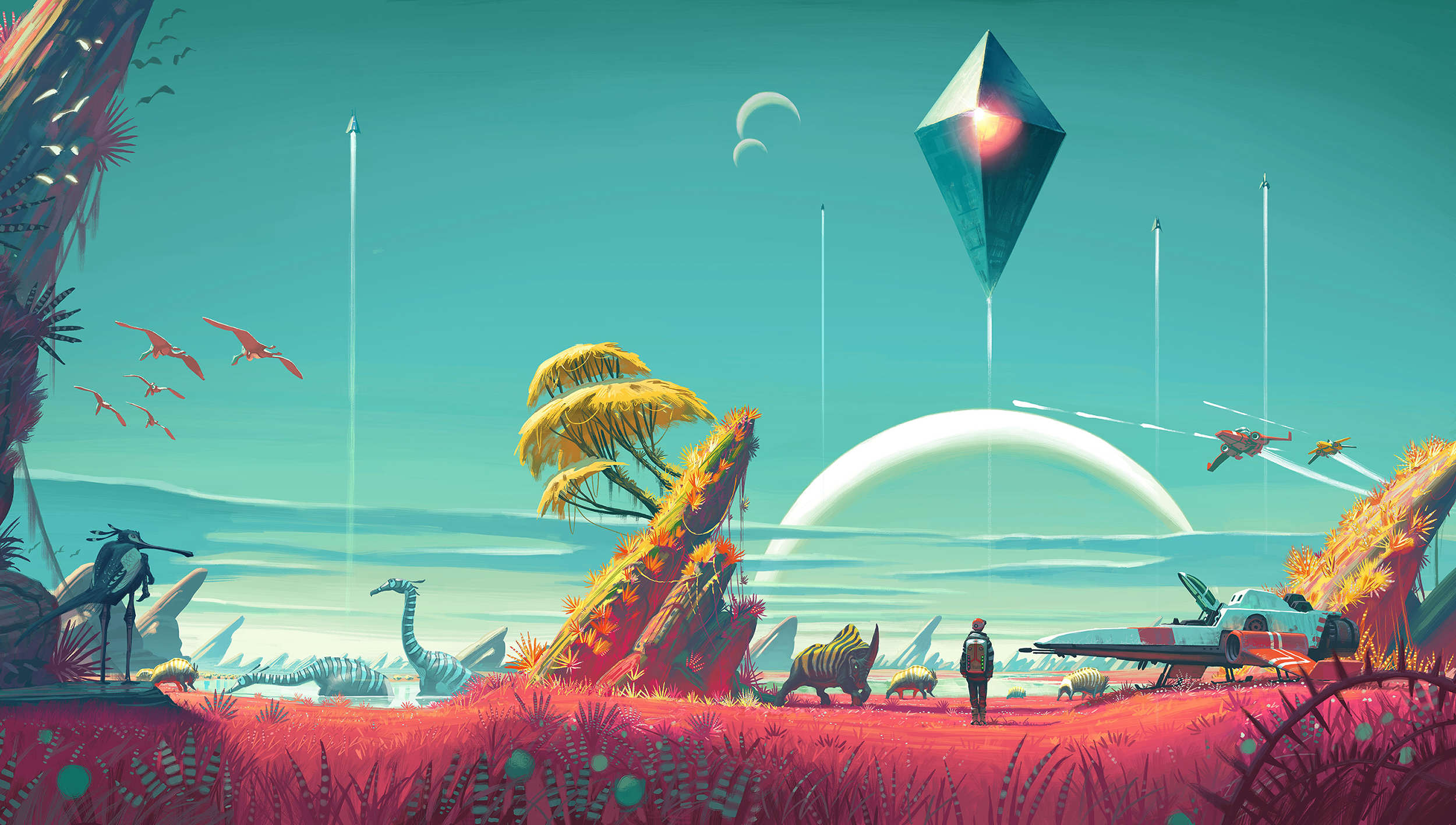 1434567347 no mans sky No Mans Sky Dev Finishes Work On First Major Update