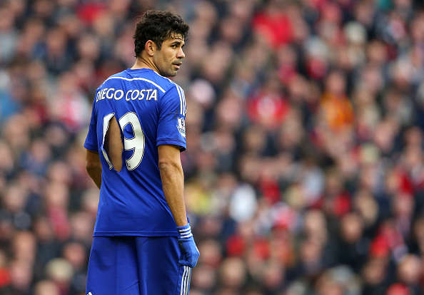Diego Costa Gets Into Most Bizzare Fight Yet During Pre Season Diego Costa Getty shirt rip 2