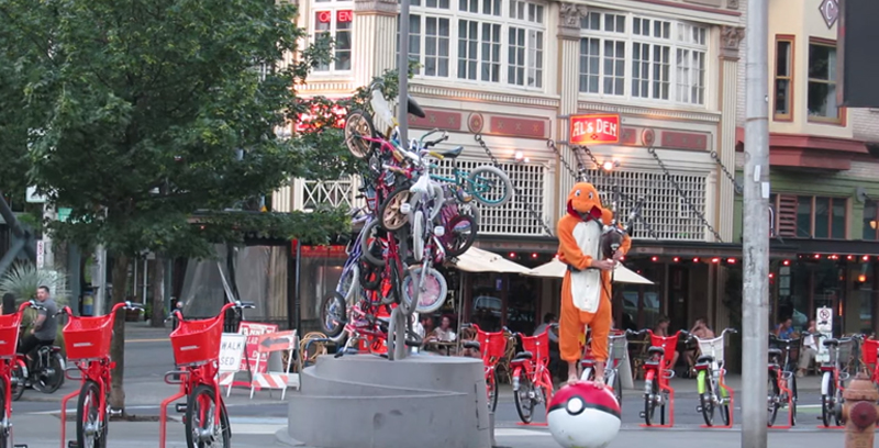 Pokemon Theme Covered On Flaming Bagpipes By Man Dressed As Charmander FacebookThumbnail 40